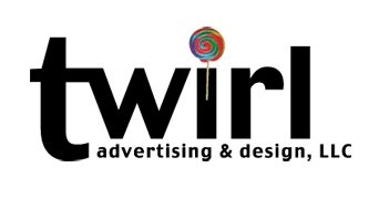 Twirl Advertising & Design, LLC Retina Logo