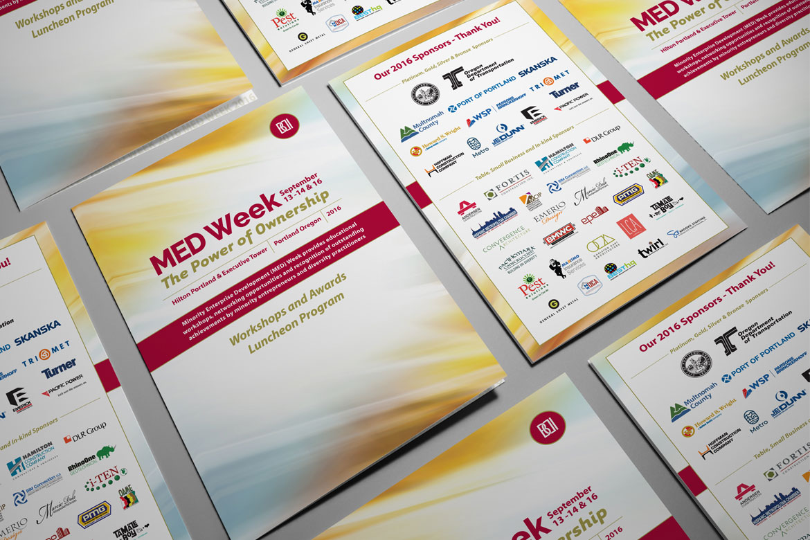 BDI MED Week 2016 Program Book