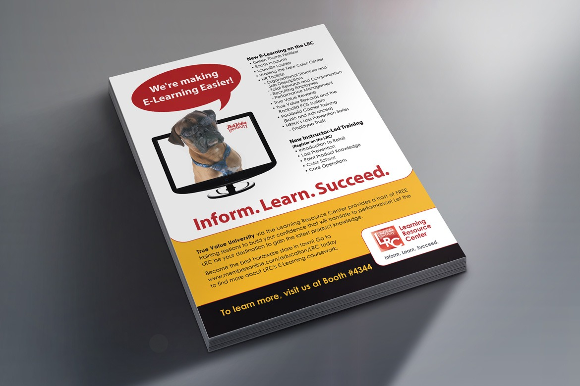 True Value LRC E-Learning Flyer