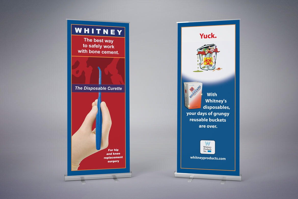 Whitney Tradeshow Banners