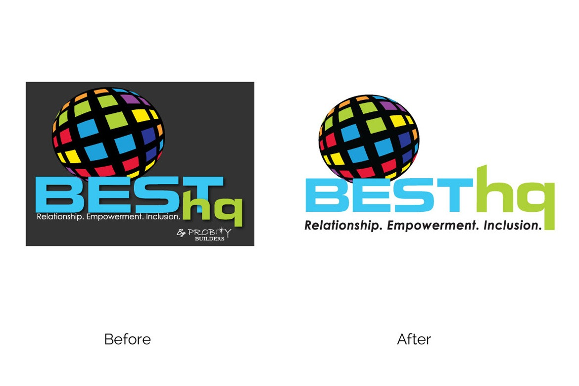 BESThq Logo - Before and After